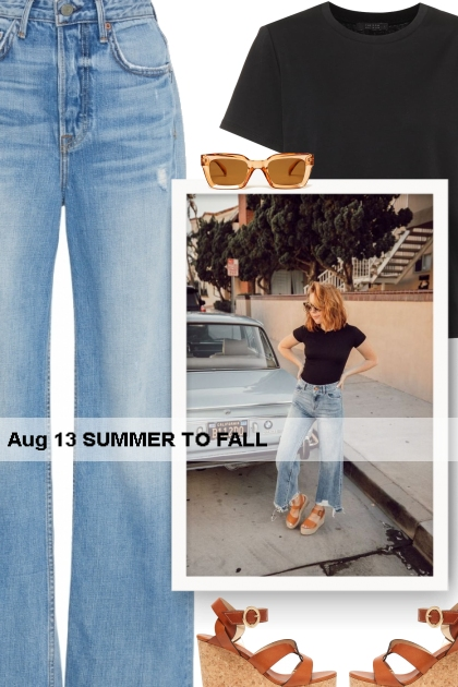 Aug 13 SUMMER TO FALL- Fashion set