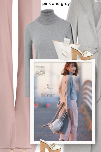 pink and grey - fall 2019