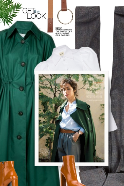 Fall 2019 - green coat