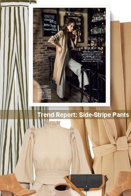 Trend Report: Side-Stripe Pants