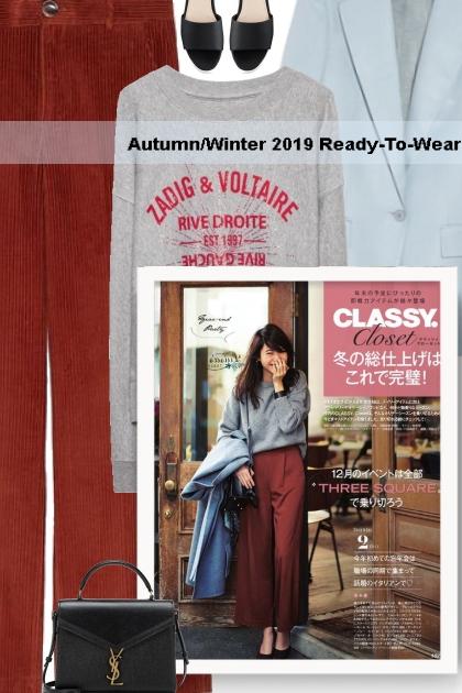 Autumn/Winter 2019 Ready-To-Wear