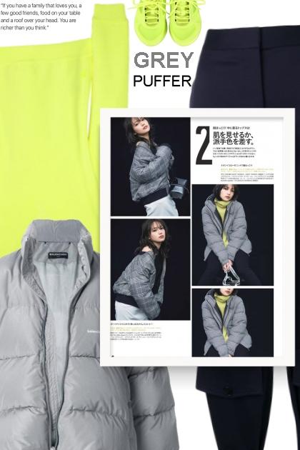 grey puffer