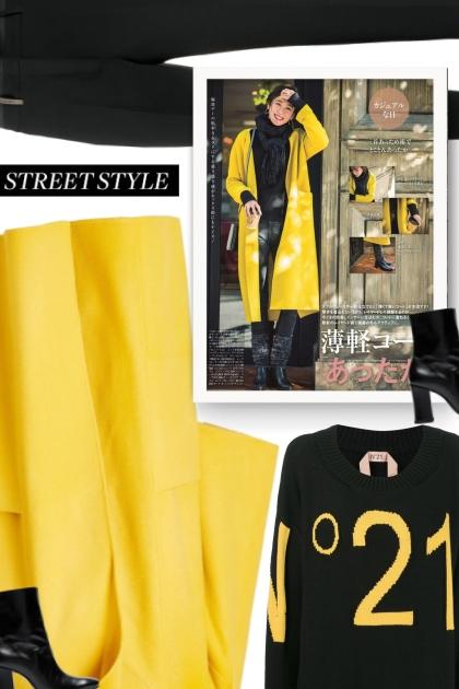 Fall 2019 - black & yellow