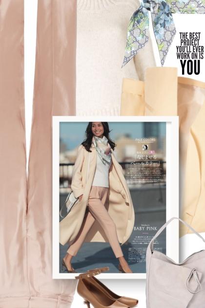 How to Wear Fall Pastels With Style- combinação de moda