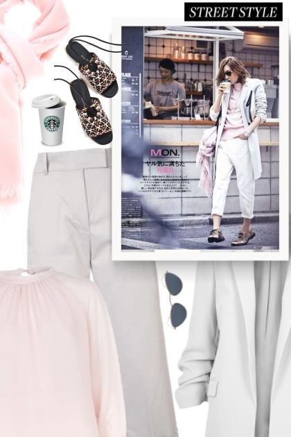 fall 2019 - white & light pink