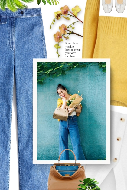 Mustard Yellow Sweater Outfit