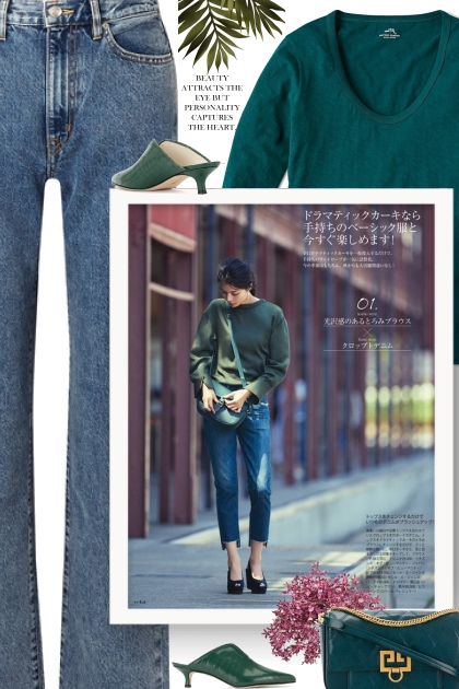 FALL 2019 - Green Fashion Trend