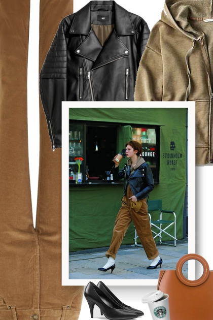 How do you style a leather jacket?