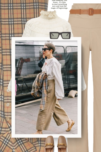 Burberry plaid // street style | Street style in 2