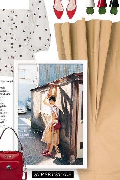 Is polka dot in Fashion 2019?