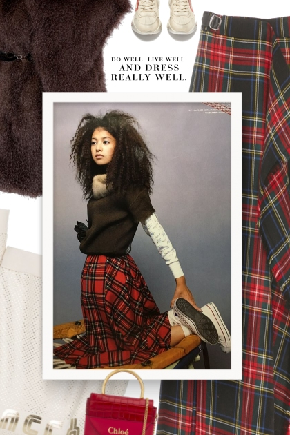 How To Style: Plaid & Tartan Skirts 2019