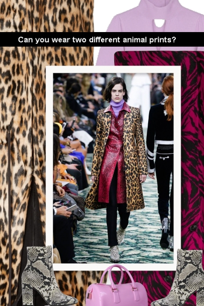 Can you wear two different animal prints?