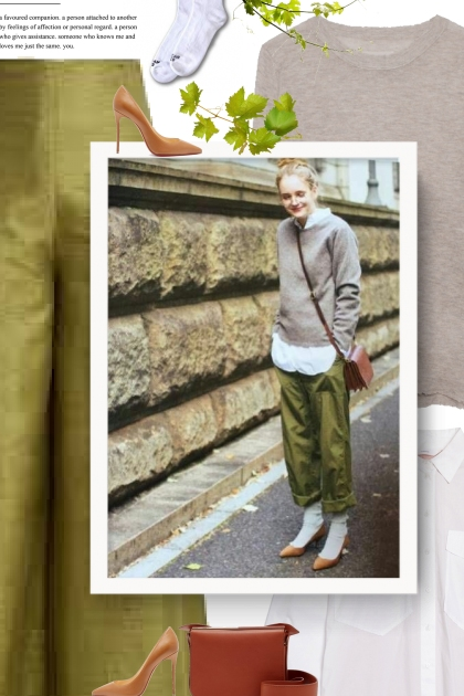What color shirt goes with olive pants?