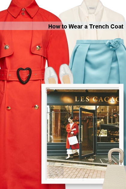 Fall 2019 - How to Wear a Trench Coat