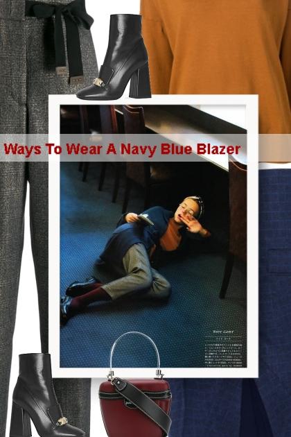Ways To Wear A Navy Blue Blazer