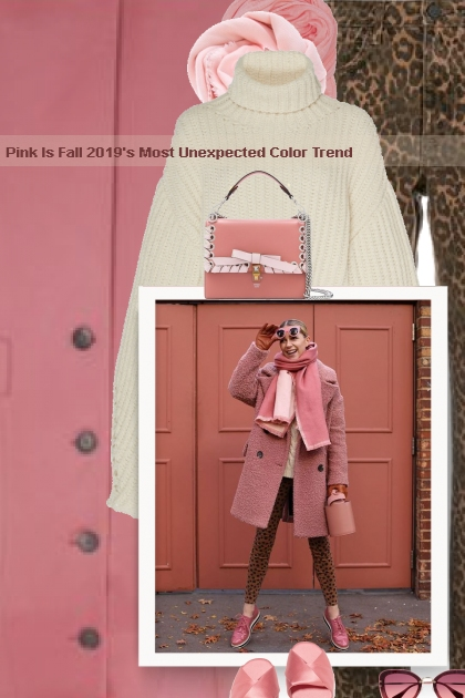 Pink Is Fall 2019's Most Unexpected Color Trend