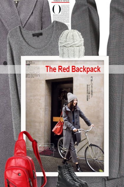 The Red Backpack