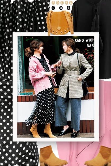 Fall 2019 - How to Style Polka Dots