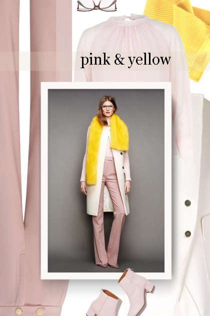 Fall 2019 - pink and yellow