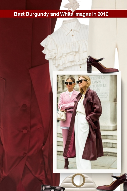 Best Burgundy and White images in 2019
