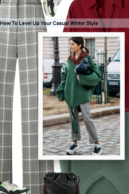 How To Level Up Your Casual Winter Style