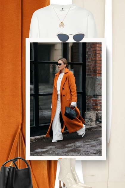 How To Wear Orange Clothing - Modna kombinacija