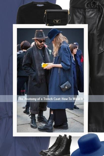 The Anatomy of a Trench Coat: How To Wear It - Modna kombinacija
