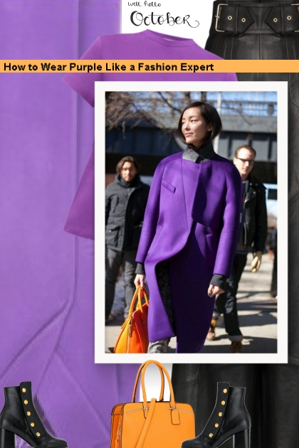 How to Wear Purple Like a Fashion Expert