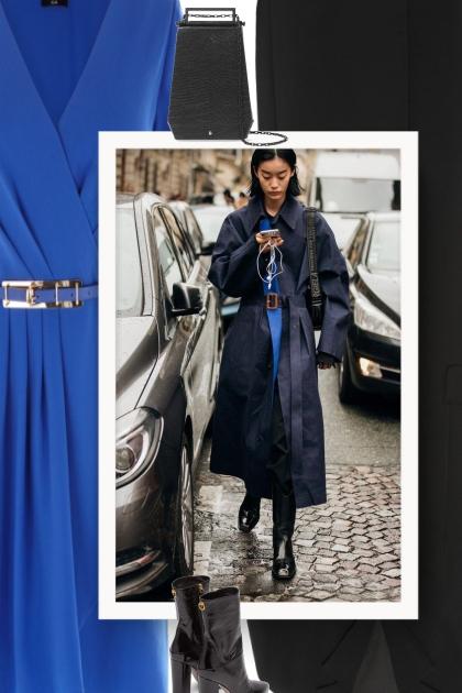 Fall 2019 - blue dress