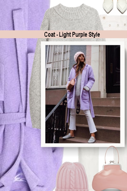 Coat - Light Purple Style