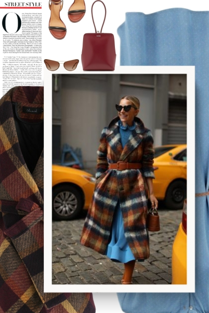 The Checked Coat Trend