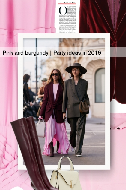 Pink and burgundy | Party ideas in 2019