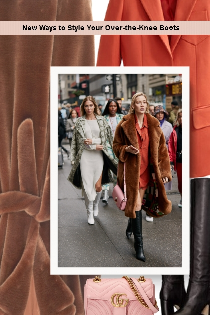 New Ways to Style Your Over-the-Knee Boots- Fashion set