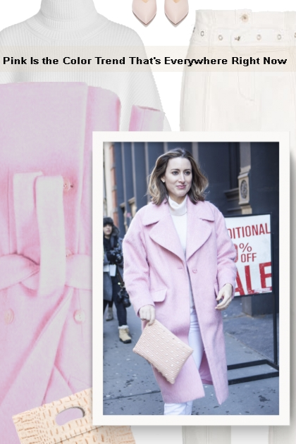 Pink Is the Color Trend That's Everywhere Right No