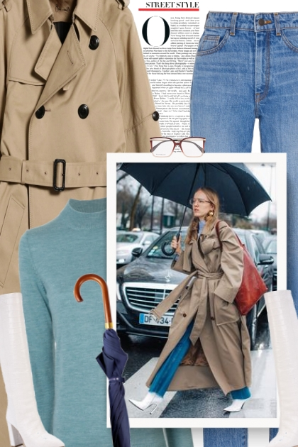 What should you wear in heavy rain?