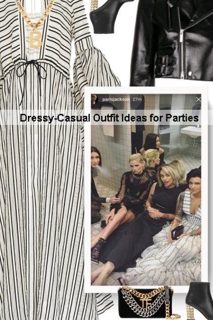 Dressy-Casual Outfit Ideas for Parties