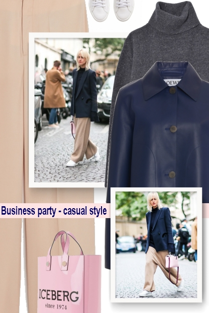 Business party - casual style