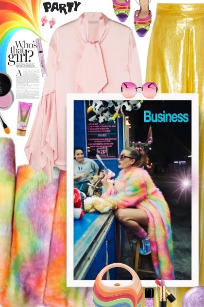Rainbow- Fashion set