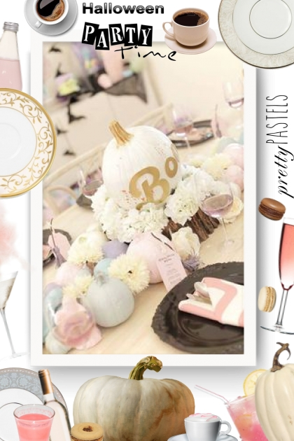 Halloween Party - pretty pastel