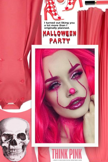 Think Pink - Halloween Party