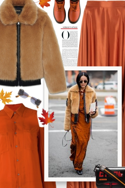 These Faux-Fur-Jacket Outfits Will Never Go Out of
