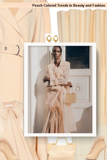 Peach Colored Trends in Beauty and Fashion