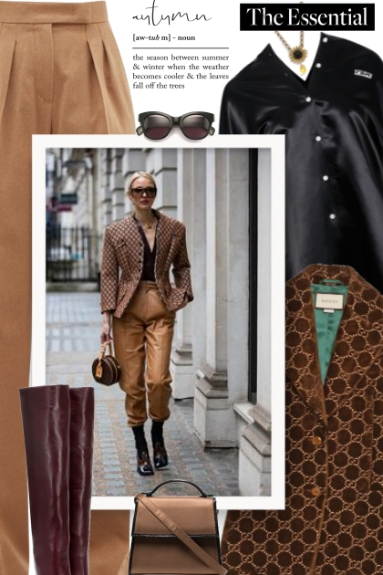Fall 2019 - the esential- combinação de moda