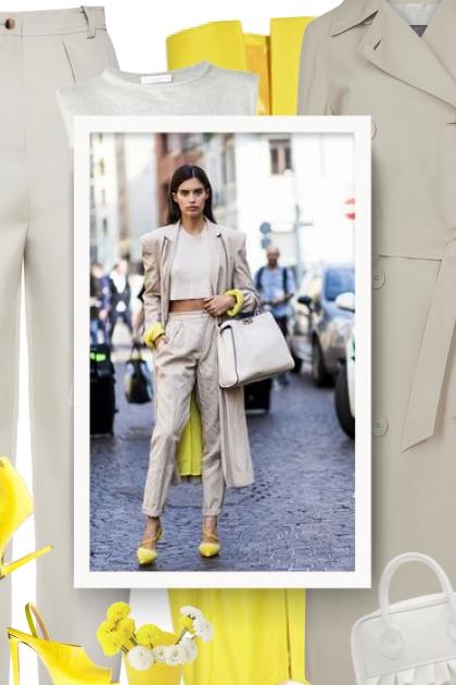 Fall 2019 - beige & yellow & white