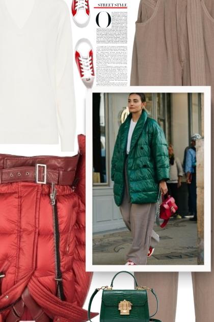 ... puffer jacket has acquired cult status - Modna kombinacija