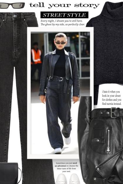 Monochrome Fashion | All Black