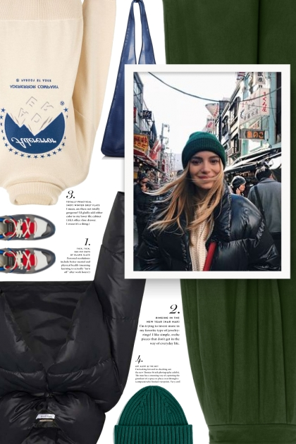 Street Style Way To Wear Beanies
