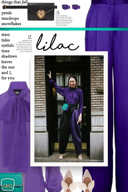 Lilac - street style