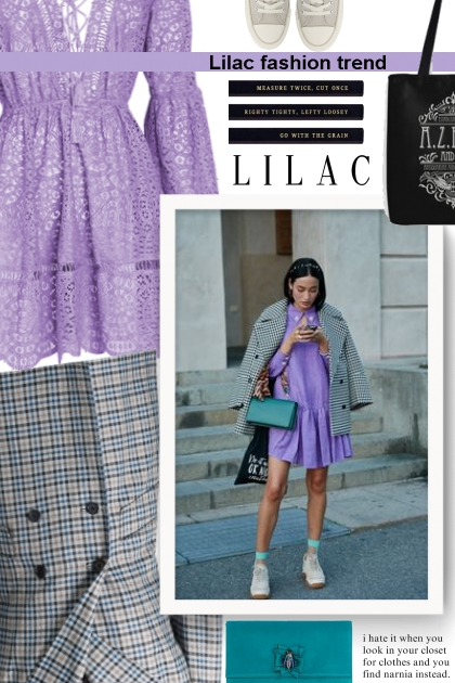 Lilac fashion trend