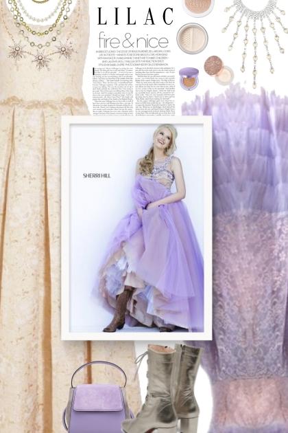 Fire & nice - lilac- Fashion set
